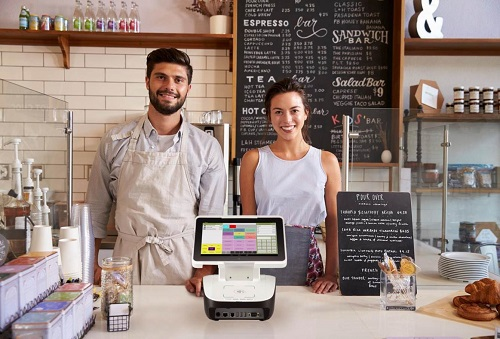 portable point of sale for a restaurant